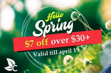 CBD Discount | $7 Off On All Orders Above $30 | Code SPRING30